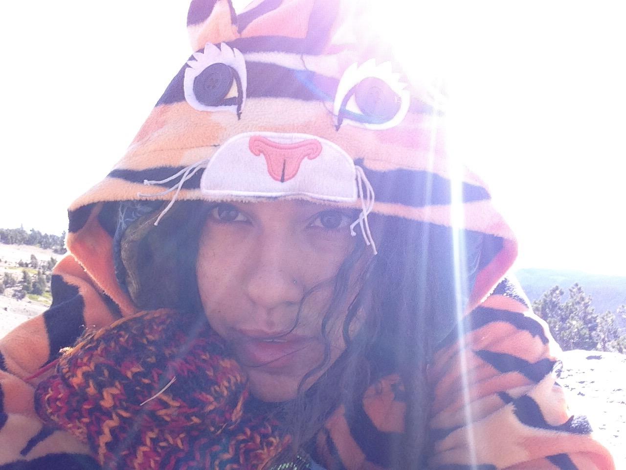 Tigeress Selfie